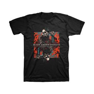 Black Crown Initiate Violent Portraits of Doomed Escape Black T-Shirt