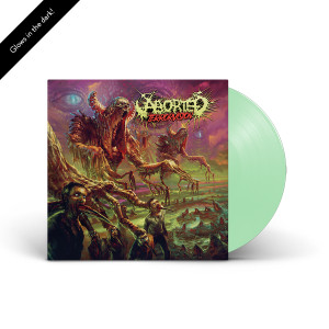 Aborted: TerrorVision LP - Glow In The Dark Vinyl