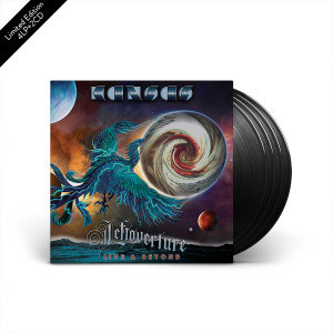 Kansas - Leftoverture Live & Beyond 4 LP + 2 CD Set