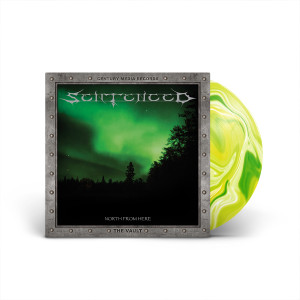 Sentenced - North From Here Yellow-marbled Green LP