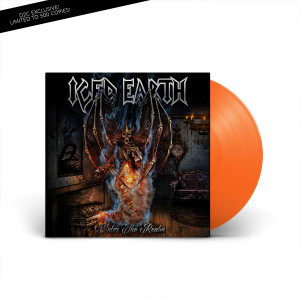 Iced Earth - Enter The Realm Opaque Orange LP