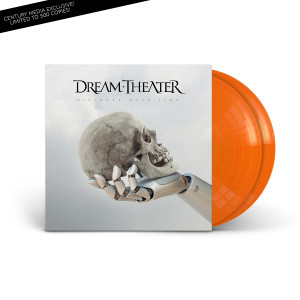 Dream Theater - Distance Over Time Translucent Orange 2LP