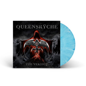 Queensrÿche - The Verdict Sky Blue/White Swirl LP