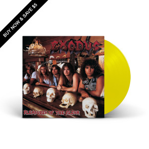 Exodus - Pleasures Of The Flesh Translucent Highlighter Yellow LP