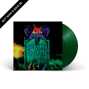 Dark Angel - Darkness Descends Translucent Green LP
