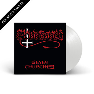 Possessed - Seven Churches Opaque White LP