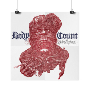 Body Count - Carnivore Blue LP + Poster