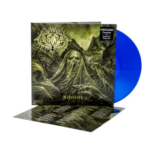 Naglfar - Cerecloth Gatefold Transparent Blue Vinyl LP