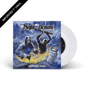 "Night Demon - Empires Fall Clear 7"" Vinyl + Digital Download"