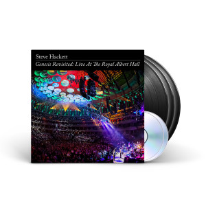 Steve Hackett - Genesis Revisited: Live at The Royal Albert Hall Black 3 LP + 2 CD + Digital Download
