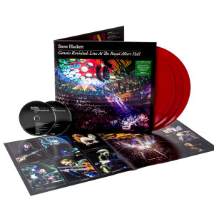 Steve Hackett - Genesis Revisited: Live at The Royal Albert Hall Red 3 LP + 2 CD + Digital Download