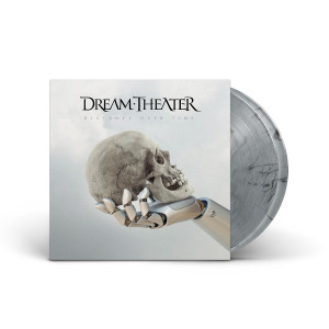 Dream Theater - Distance Over Time Silver/Smoke Swirl 2 LP