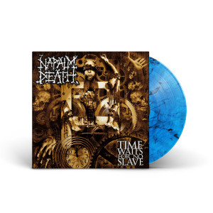 Napalm Death - Time Waits For No Slave (Decibel Edition) BLUE SMOKE LP + Standard Jacket