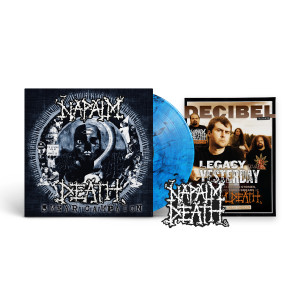 Napalm Death - Smear Campaign (Decibel Edition) BLUE SMOKE LP + Standard Jacket