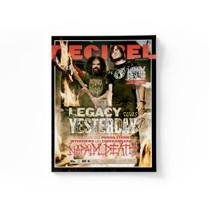 Napalm Death - Apex Predator: Easy Meat (Decibel Edition) BLUE SMOKE LP + Standard Jacket