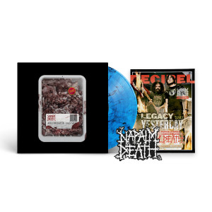 Napalm Death - Apex Predator: Easy Meat (Decibel Edition) BLUE SMOKE LP + Standard Jacket