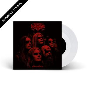 """Necrophobic - Mirror Black Clear 7"""" Vinyl"""