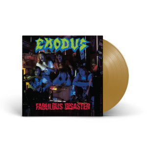 Exodus - Fabulous Disaster Opaque Metallic Gold Vinyl