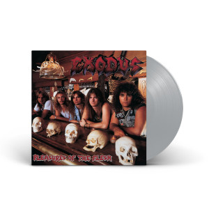 Exodus - Pleasures Of The Flesh Opaque Metallic Silver Vinyl
