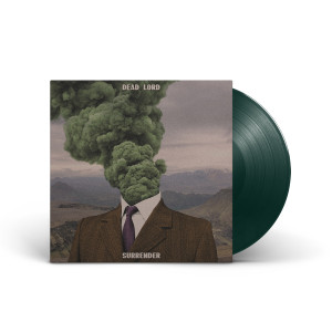 Dead Lord - Surrender Dark Green Vinyl Standard Jacket + Digital Album Download