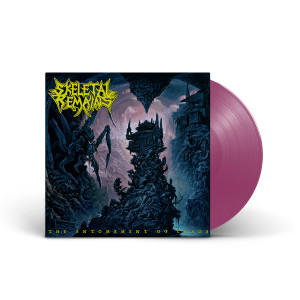 Skeletal Remains - The Entombment Of Chaos Single LP Gatefold (Orchid) + Digital Album Download