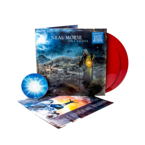 Neal Morse - Sola Gratia Brick Red Vinyl 2LP + CD Gatefold + Digital Download