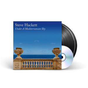 Steve Hackett - Under A Mediterranean Sky Black Vinyl 2LP + CD