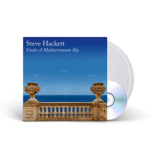 Steve Hackett - Under A Mediterranean Sky Clear Vinyl 2LP + CD