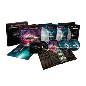 Transatlantic - The Absolute Universe - The Ultimate Edition Ltd. Deluxe Clear 5LP + 3CD + Blu-ray Box Set