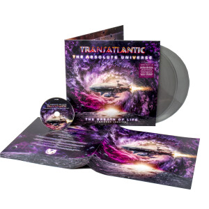 Transatlantic - The Absolute Universe - The Breath Of Life (Abridged Version) Silver Vinyl 2LP + CD