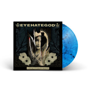 EYEHATEGOD - A History of Nomadic Behavior Blue Smoke Vinyl LP