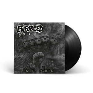 Enforced - Kill Grid Black Vinyl LP + Digital Download