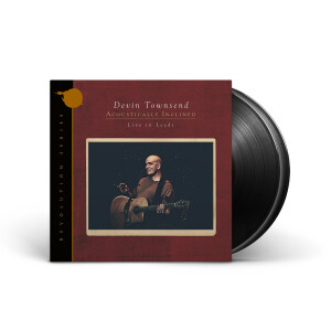 Devin Townsend - Devolution Series #1 - Acoustically Inclined, Live in Leeds Black Vinyl 2 LP + Digital Download