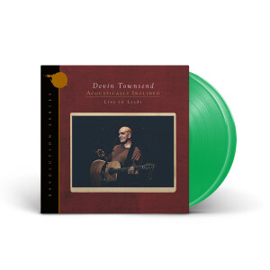 Devin Townsend - Devolution Series #1 - Acoustically Inclined, Live in Leeds Green Vinyl 2 LP + Digital Download