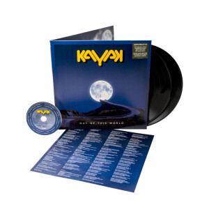 Kayak - Out Of This World Black Vinyl 2LP + CD + Digital Download