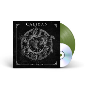 Caliban - Zeitgeister Olive Green Vinyl LP + CD + Digital Download