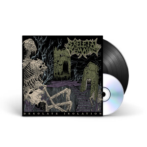 Skeletal Remains - Desolate Isolation - 10th Anniversary Edition Black Vinyl LP + CD