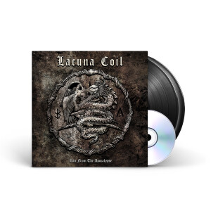 Lacuna Coil - Live From The Apocalypse Black Vinyl 2LP + DVD + Digital Download