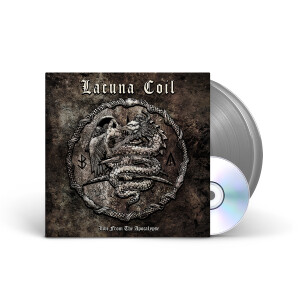 Lacuna Coil - Live From The Apocalypse Silver Vinyl 2LP + DVD + Digital Download
