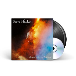 Steven Hackett - Surrender of Silence Black 2LP + CD + Digital Download