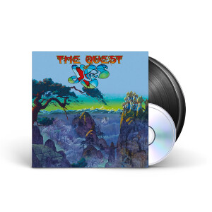 Yes - The Quest Black 2LP + 2CD + Digital Download