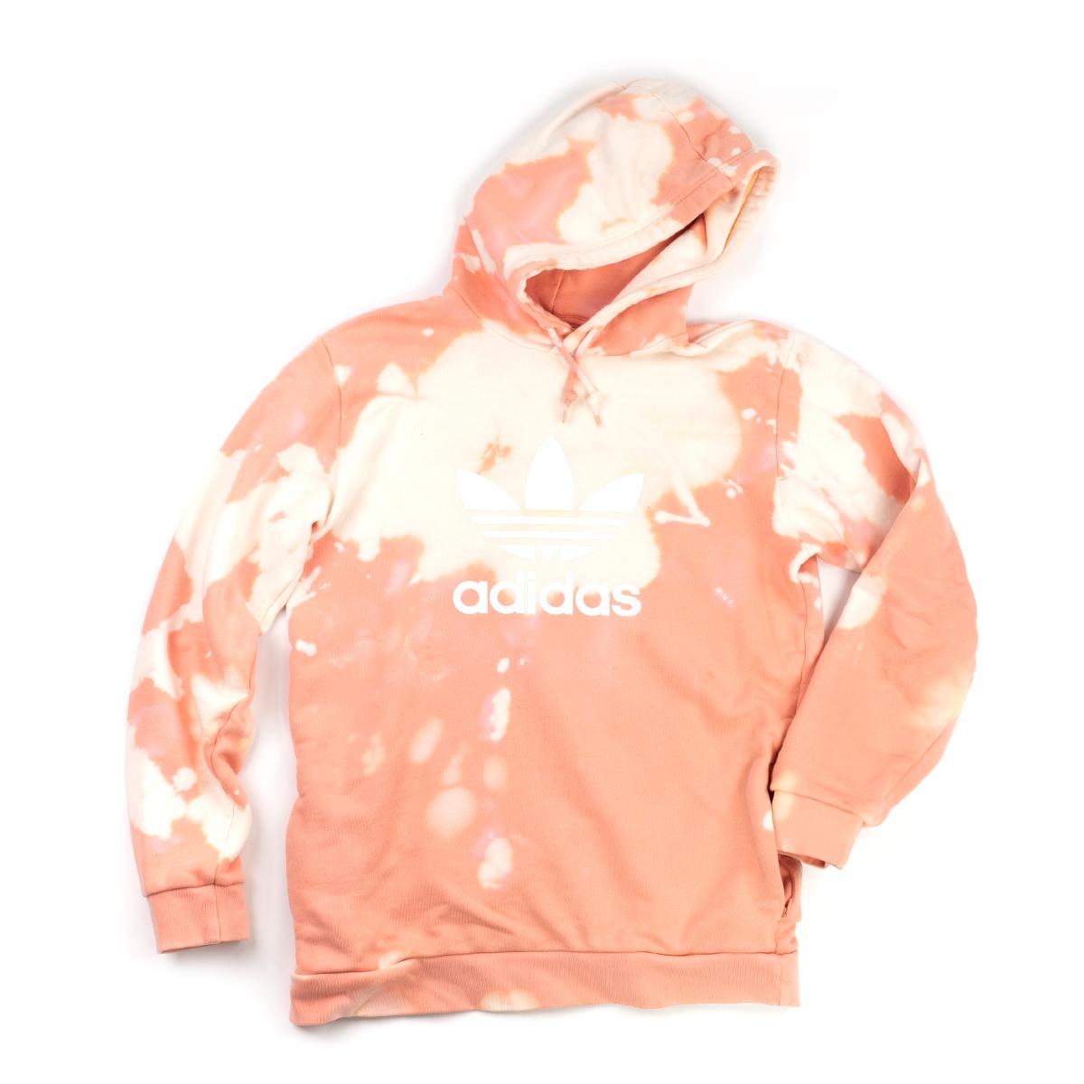 Peach Adidas Hoodie (L)