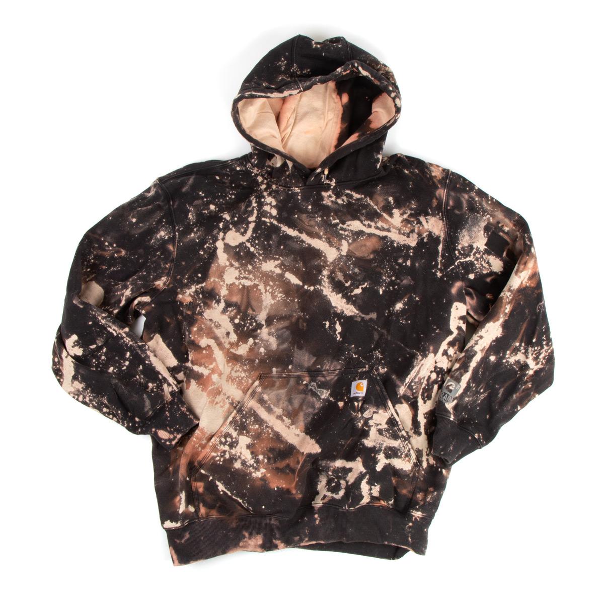 Bleached Black Carhartt Hoodie (XL)