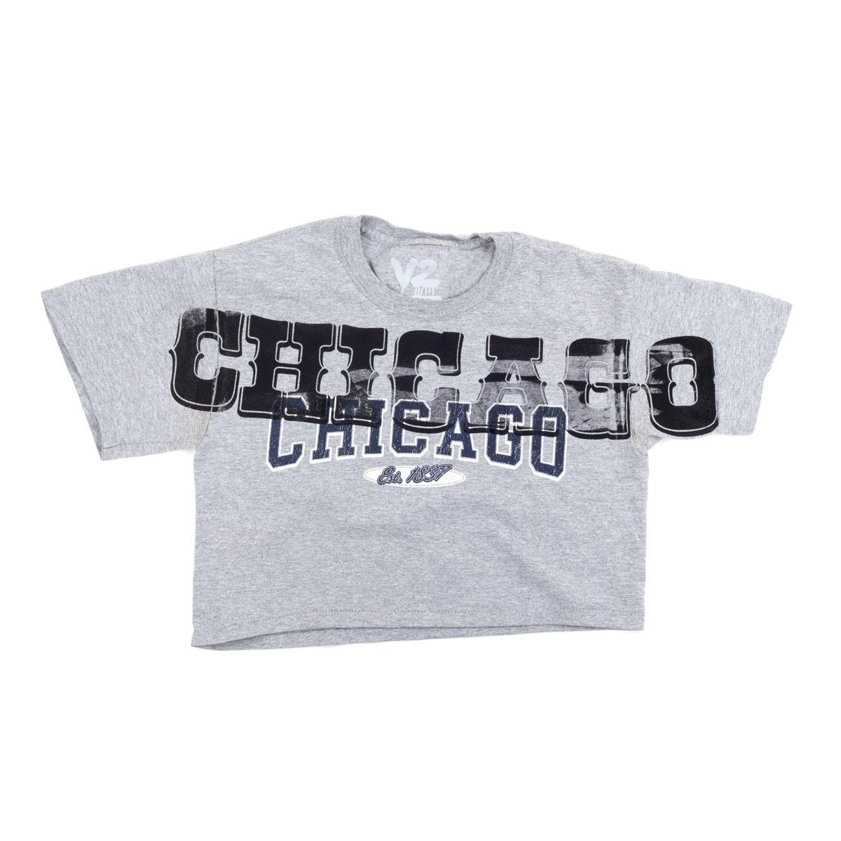 Chicago Crop Top T-Shirt (S)