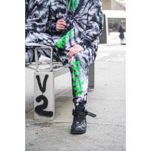 dyed VII sweatpants