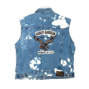 Denim Harley Vest (XL)