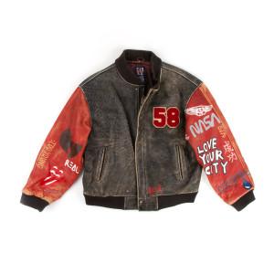 Vintage Leather Coat (XL)