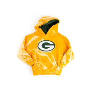 Yellow Kids Packers Hoodie (5T)