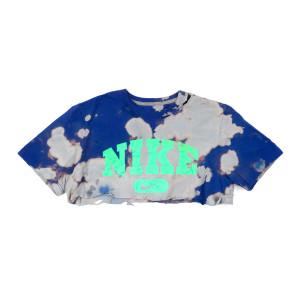 Blue Nike Crop Tee (M)