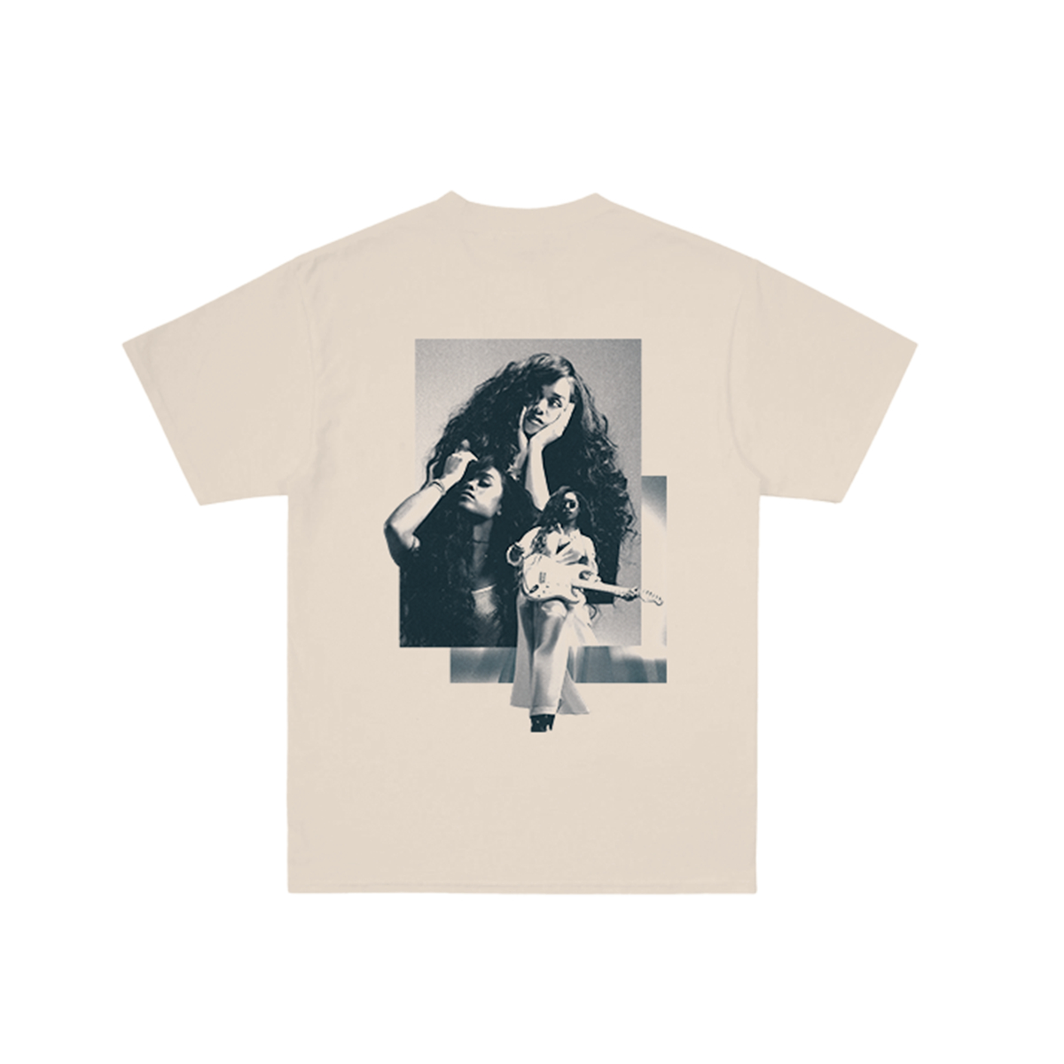 Back Of My Mind Collage Cream T-Shirt